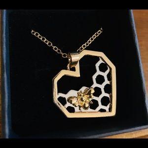 Jewelry - 🐝 Gold/Silver Honeybee Necklace 🐝